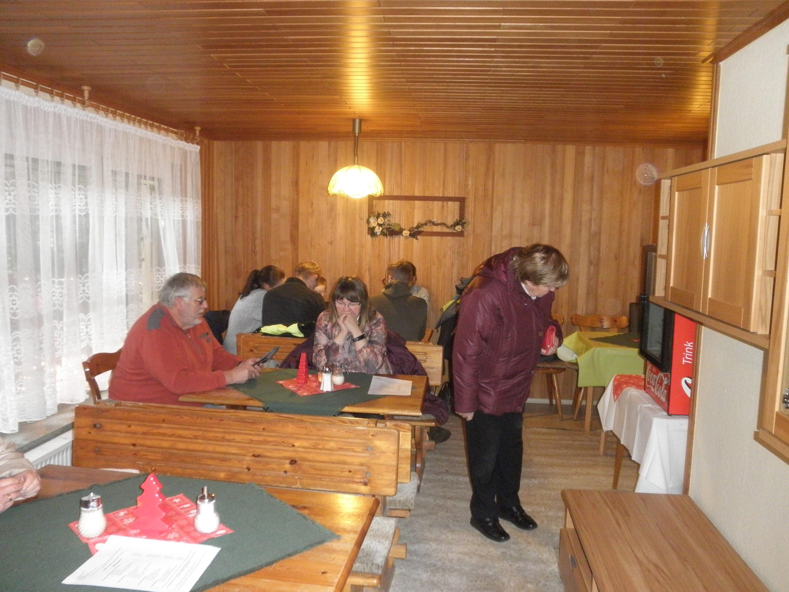 Weihnachts-Café
